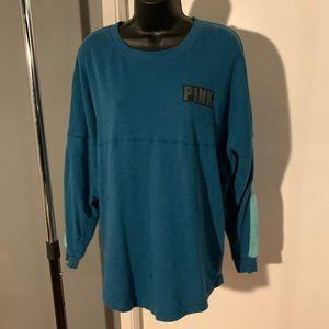 like new V Secret blue/silver PINK sweater (6/$14)